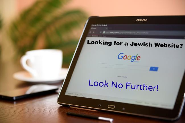 Looking for a Jewish website? Look no further!